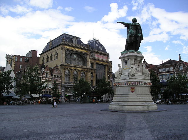 Plaza del Mercado del Viernes de Gante