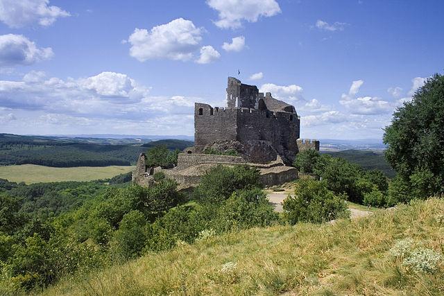 Castillo de Holloko en Hungría