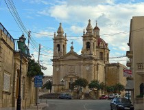 Iglesia Parroquial de Sannat en Malta