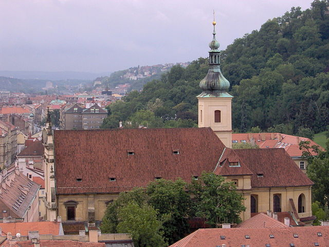 Iglesia de Nuestra Señora de la Victoria en Praga