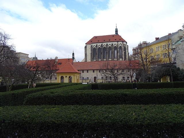 Jardín Franciscano en Praga