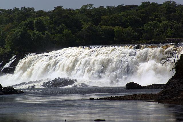 Parque La Llovizna en Ciudad Guyana