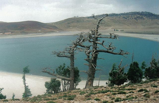 Lago Agüelmame Sidi Ali