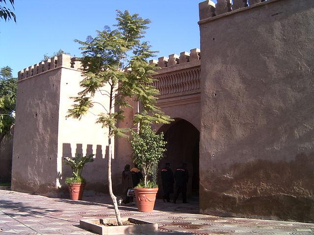 Parque Lalla Aicha en Oudja