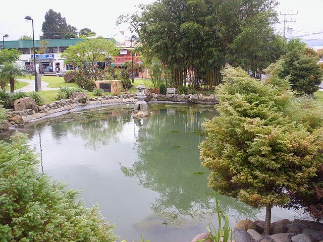 Parque Okayama en San José