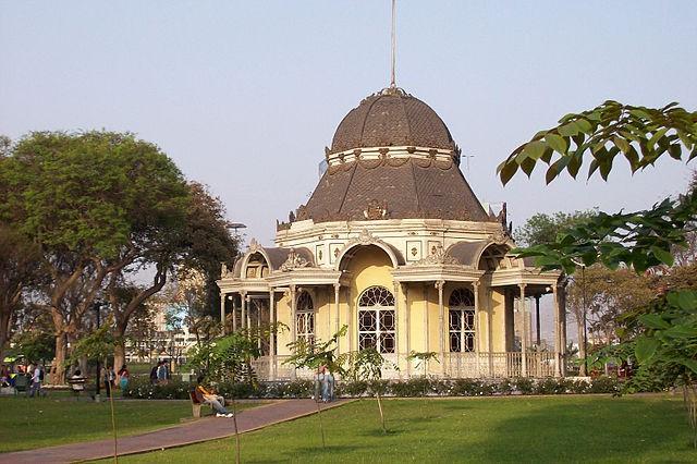 Parque de la Exposición en Lima