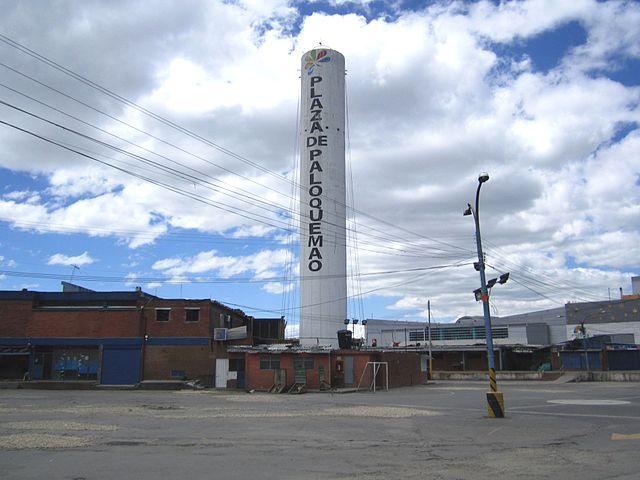 Plaza de Mercado de Paloquemao en Bogotá
