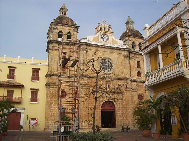 Iglesia de San Pedro Claver en Cartagena de Indias
