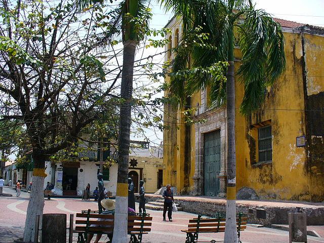 Iglesia de la Trinidad en Cartagena de Indias