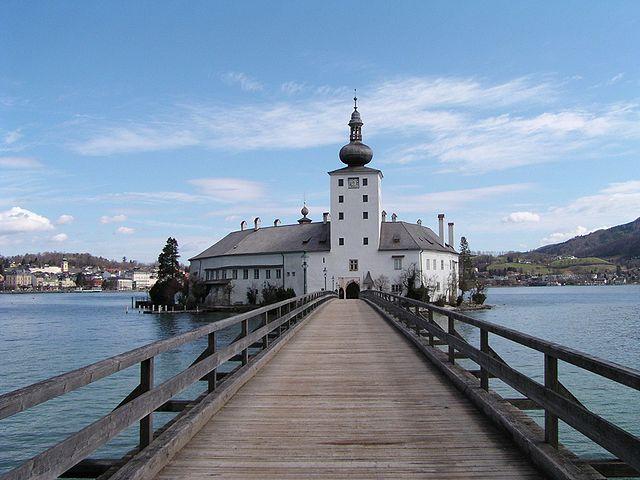 Castillo de Schloss Ort en Gmunden