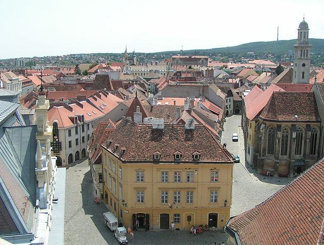 Casa Fabricius en Sopron