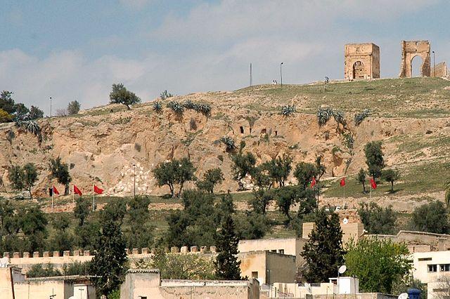 Tumba Meriní en Fez