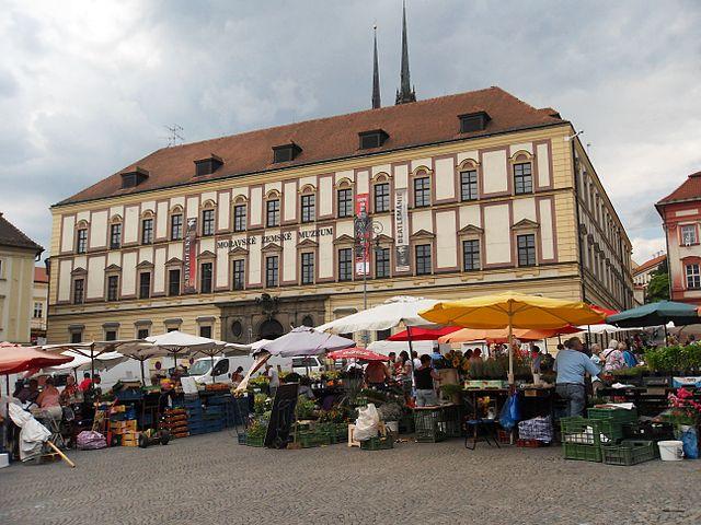 Plaza Zeln Trh en Brno