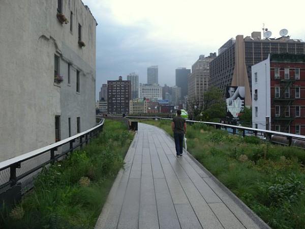 High Line de Nueva York, la vía elevada convertida en parque