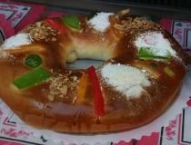 El Roscón de Reyes, el último dulce de las fiestas navideñas