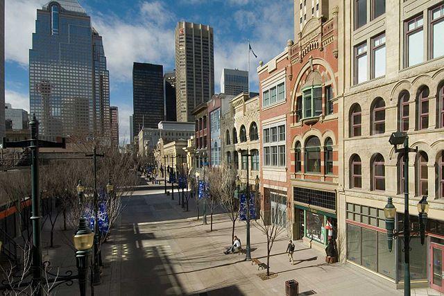 Avenida Stephen de Calgary