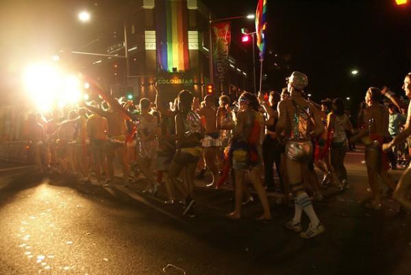 El Mardi Gras es uno de los festivales más importantes de Sidney