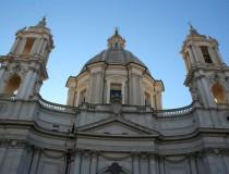Los templos de Santa Inés en Roma
