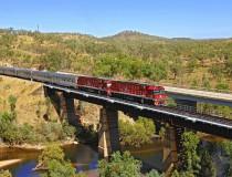 The Ghan o como recorrer Australia en tren