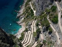 La Vía Krupp, el sendero más serpenteante de toda Italia