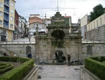 Las Burgas de Orense, fuentes de agua termal en el centro de la ciudad