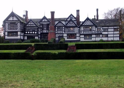 Bramall Hall, mansión en Stockport