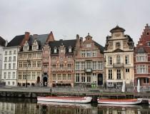 Paseo por los canales de Gante