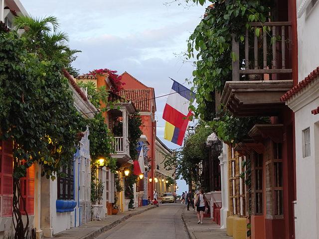 Plaza de San Diego de Cartagena de Indias