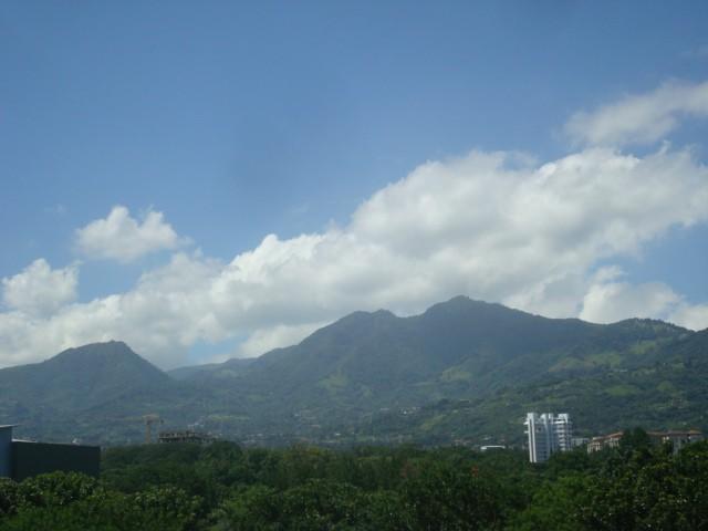 Cerros de Escazú en Costa Rica