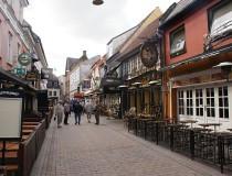 Calle peatonal Jomfru Ane Gade en Aalborg