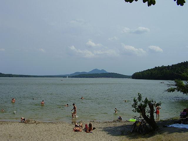 Lago Mácha en República Checa