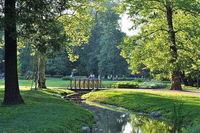 Parque Luzanky en Brno