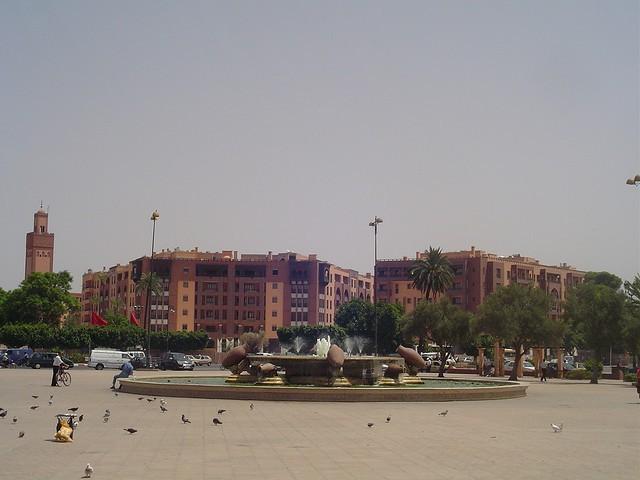 Jardines del Riad Enija en Marrakech