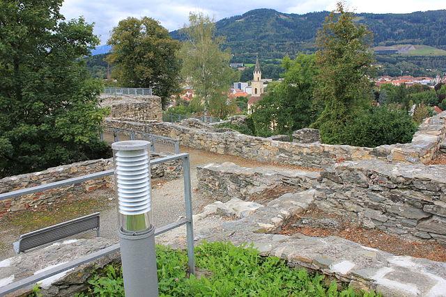 Castillo de Massenburg en Leoben