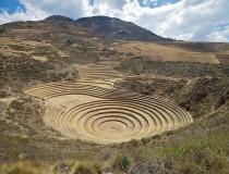 Sitio Arqueológico Moray en Cuzco