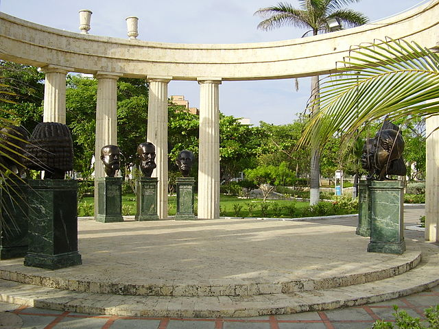 Parque Apolo en Cartagena de Indias