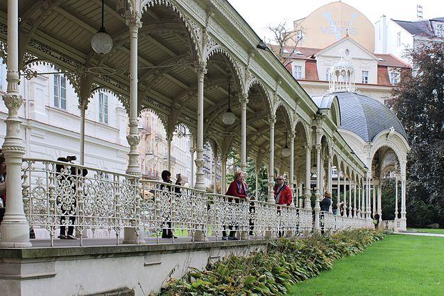 Parque Columnata de Karlovy Vary