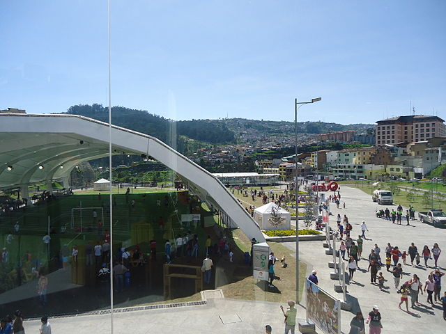 Parque Urbano Cumandá