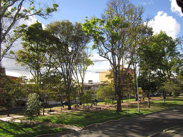 Parque Way en Bogotá