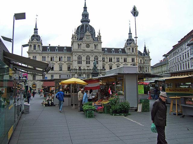 Cabina de las Monedas en GrazCabina de las Monedas en Graz