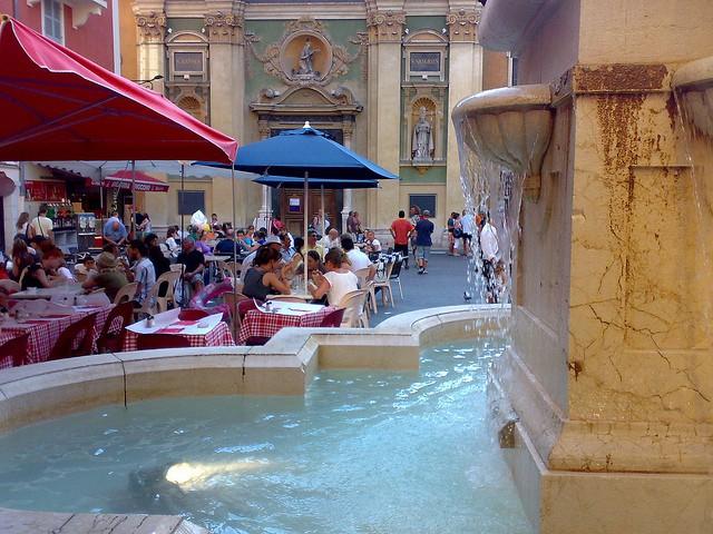 Plaza Rossetti en Niza