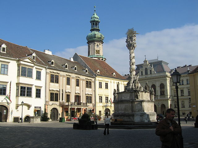 Plaza Úrsula de Sopron