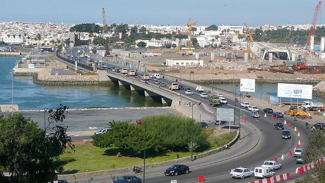 Puente Hassan II en Rabat