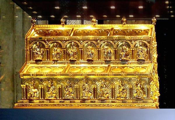 El relicario de los Reyes Magos se encuentra en la Catedral de Colonia