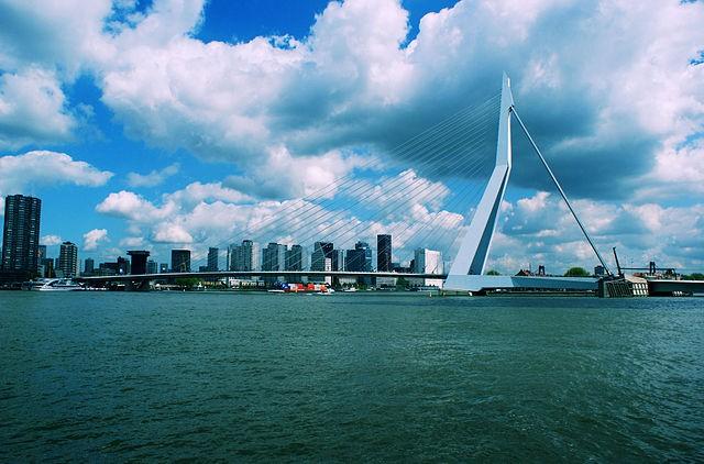Monumento Ciudad Destruida en Rotterdam