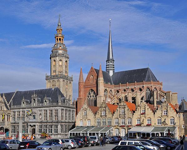 Iglesia de Santa Walburga de Veurne