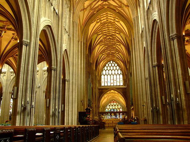 Iglesia de St. Mary Redcliffe en Bristol