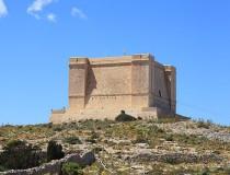 La Torre de Comino en Malta