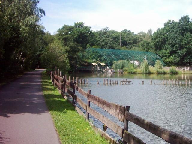 Zoopark en Chomutov
