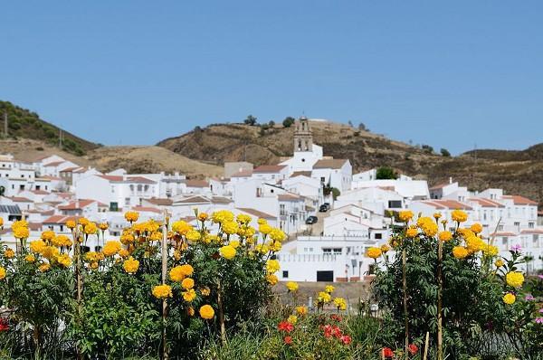 Vistas de Alcoutim, un pequeño pueblo portugués